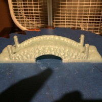 Small OpenForge Stone Bridge 3D Printing 11663