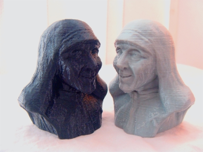 Mother Theresa 3D Print 1168
