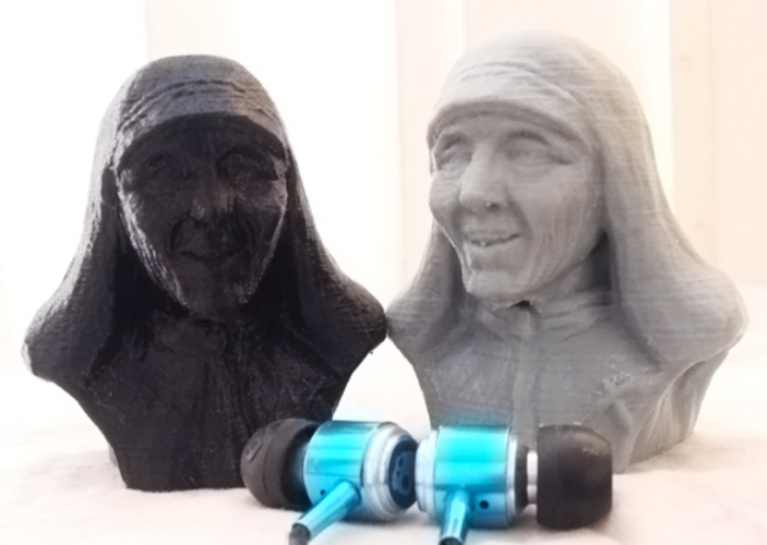 Mother Theresa 3D Print 1169