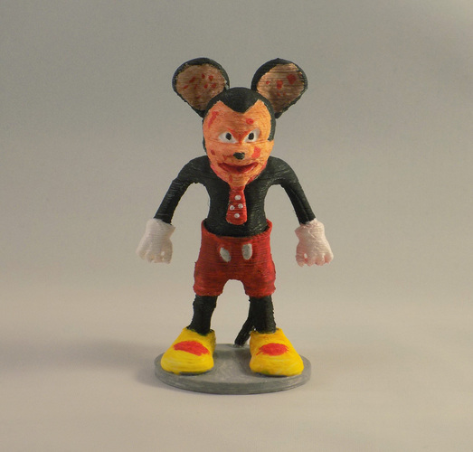 SCARY MOUSE 3D Print 11690