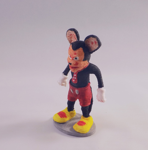 SCARY MOUSE 3D Print 11691