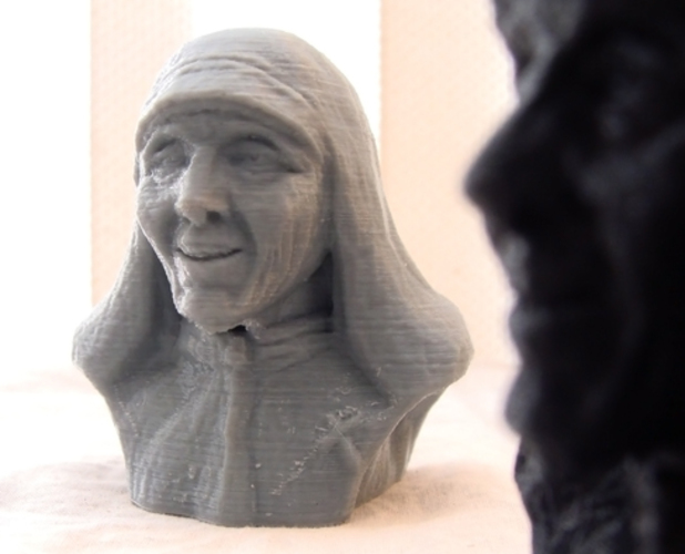 Mother Theresa 3D Print 1170