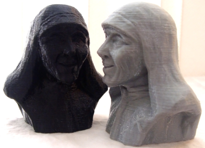 Mother Theresa 3D Print 1171