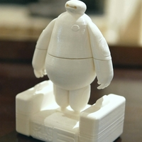Small BIG HERO 6 - BAYMAX 3D Printing 11731