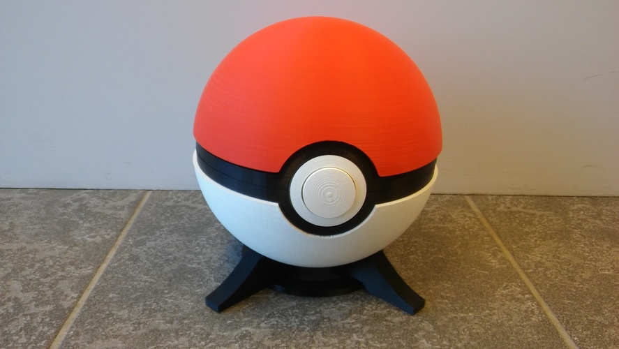 Pokeball remix 3D Print 11849