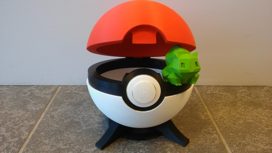 Pokeball remix 3D Print 11850