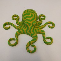 Small 3D Printed Octopuses for quality test [ size=50mm ] (1) 3D Printing 11860