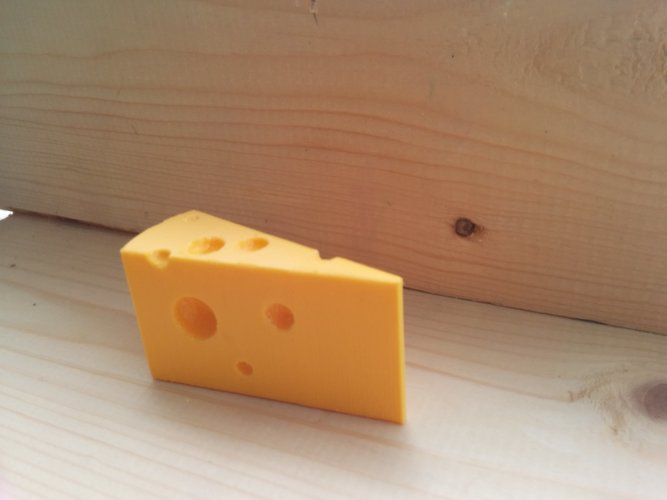 Cheese door stopper 3D Print 11880