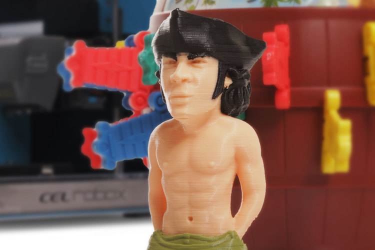 Pop Up Poldark 3D Print 12035