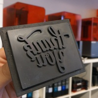 Small Thank You Stamp 3D Printing 12040