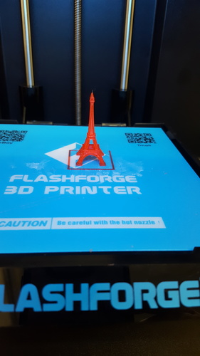 The Eiffel Tower Miniature 3D Print 12042