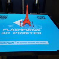 Small The Eiffel Tower Miniature 3D Printing 12042