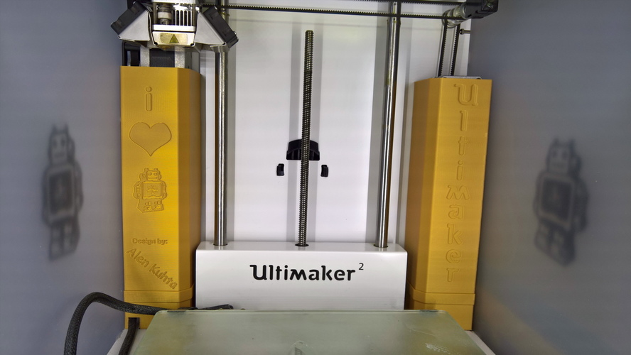 Ultimaker motor cover upgrade :) 3D Print 12079
