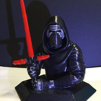 Small Kylo Ren Body 3D Printing 12100