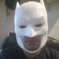 Small Batman Cowl 3D Printing 12106