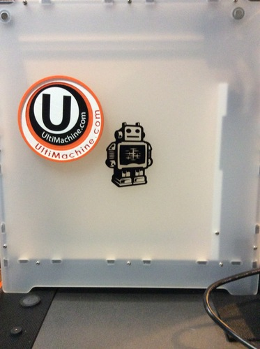 UltiMachine Magnetic Sticker Plate 3D Print 12120