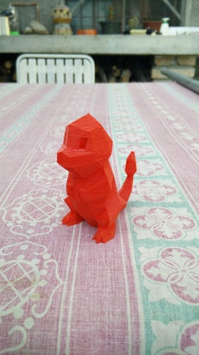 Low Poly Pokemon  3D Print 12136