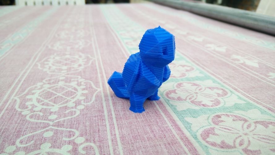 Low Poly Pokemon  3D Print 12138