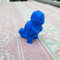 Small Low Poly Pokemon  3D Printing 12138