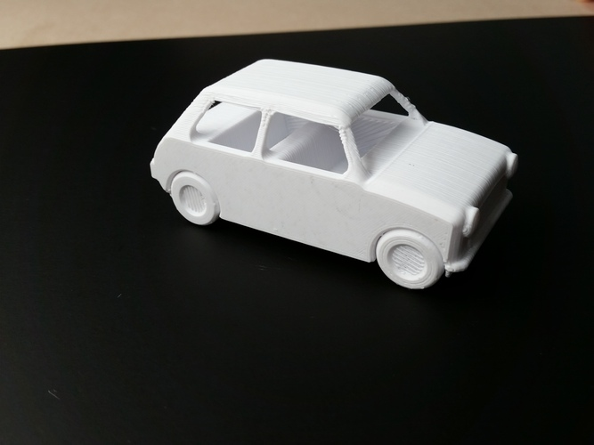 Le FabShop mini Mobile w/ moving parts 3D Print 1219