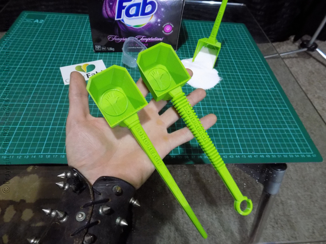 Long Reach Laundry Scoop 3D Print 12190
