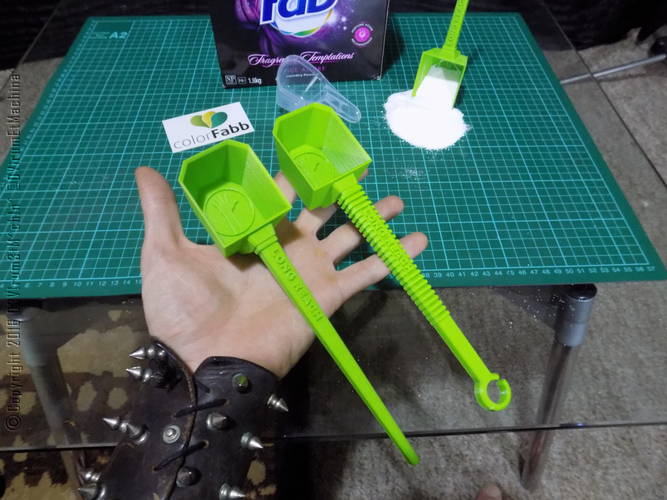 Long Reach Laundry Scoop 3D Print 12191