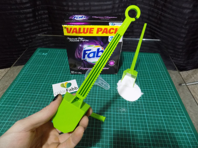 Long Reach Laundry Scoop 3D Print 12197