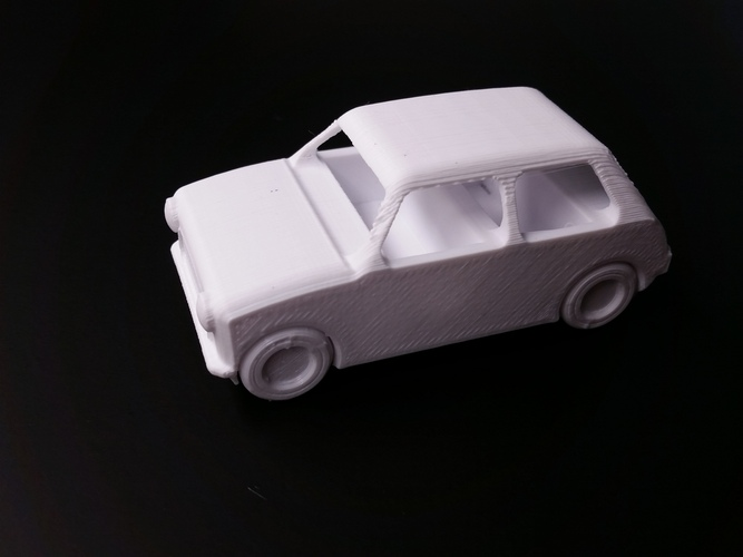 Le FabShop mini Mobile w/ moving parts 3D Print 1220