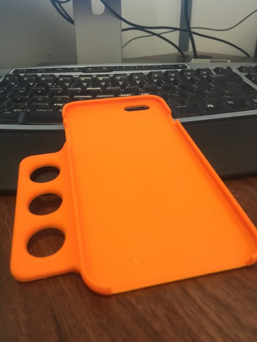 Ergo iPhone 6 Plus Case - For Limited Hand Mobility 3D Print 12203