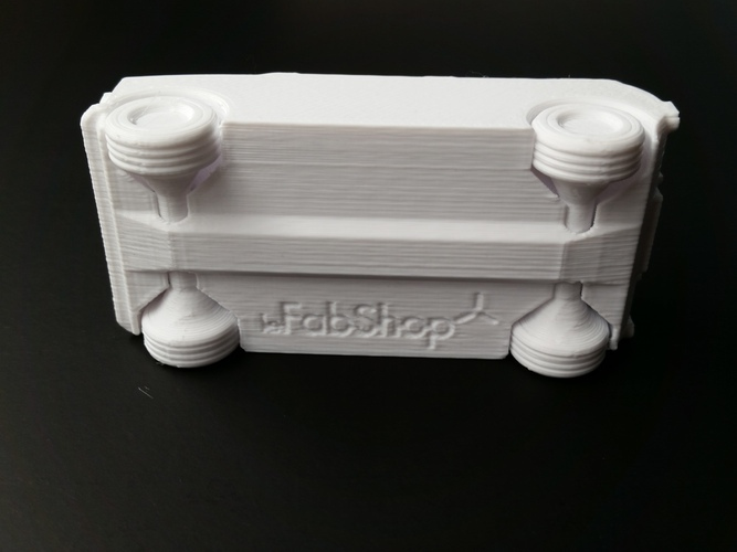 Le FabShop mini Mobile w/ moving parts 3D Print 1221