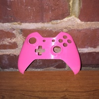 Small Xbox One Controller Faceplate 3D Printing 12251