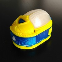 Small Scarab Beetle Box (with secret lock) 3D Printing 1231