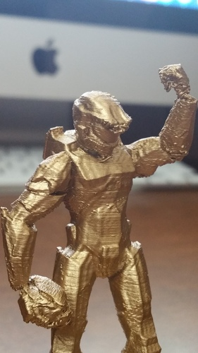 Halo Fantasy Football trophy 3D Print 12313