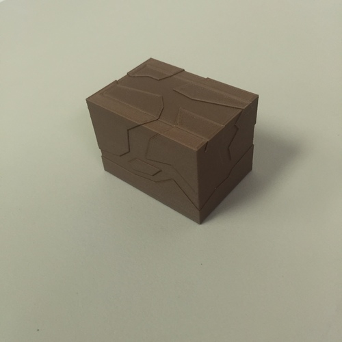 Box with lid 3D Print 12317