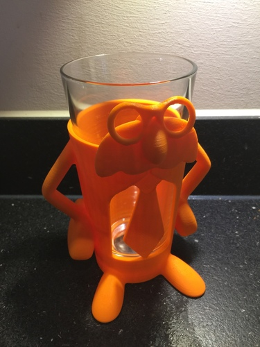 Professor Pint - Add fun and accessibility to your drinking! 3D Print 12391