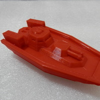 Small Gunboat Mk.II (Narwhal) 3D Printing 12417