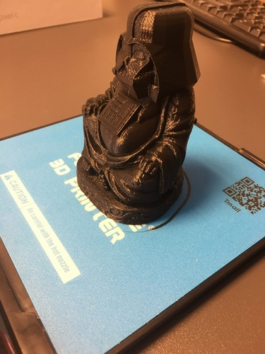 Darth Vader Buddha with saber 3D Print 12494