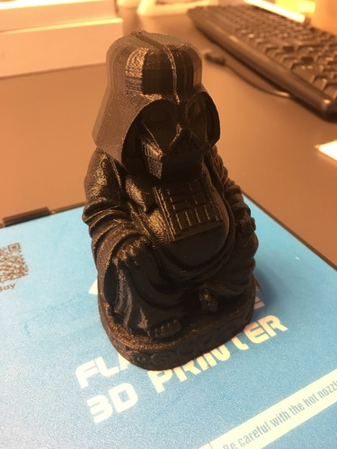 Darth Vader Buddha with saber 3D Print 12495