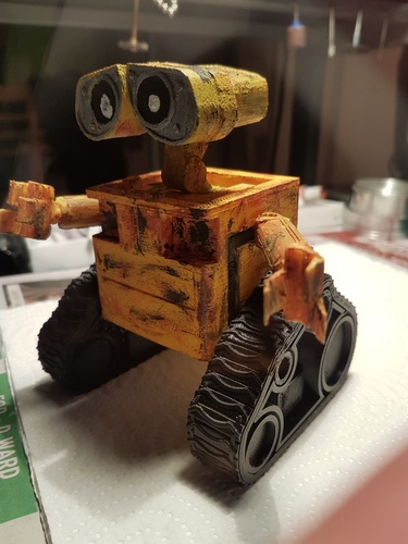 WALL-e  ( cut into parts ) 3D Print 12525