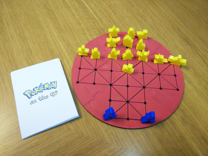 Pokémon on the GO (board game) 3D Print 12680