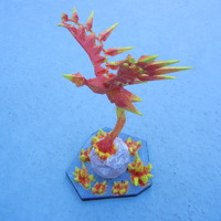 Small Low Poly Phoenix 3D Printing 1276