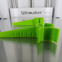 Small Blade Typing Assistant 3D Printing 12779