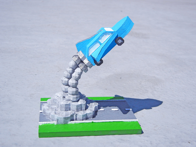 Road Trip to the Moon 3D Print 1279