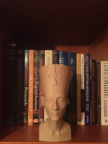 Nefertiti Bust [Hollow] 3D Print 12847