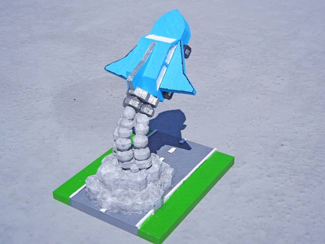 Road Trip to the Moon 3D Print 1285