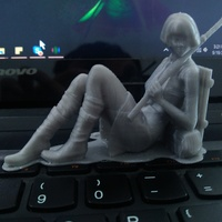 Small Machiko - the rebel 3D Printing 12896