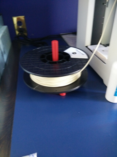 Universal stand-alone filament spool holder (Fully 3D-printable) 3D Print 1292