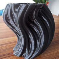 Small Julia Vase #004 - Bloom 3D Printing 12928