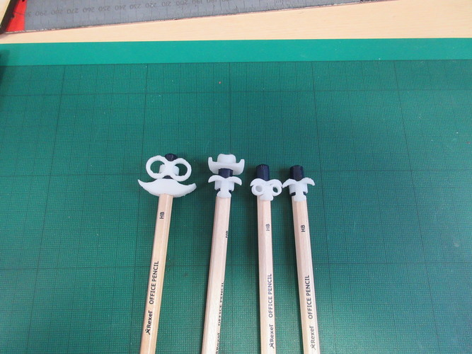 Pencil Disguise Set 3D Print 12936
