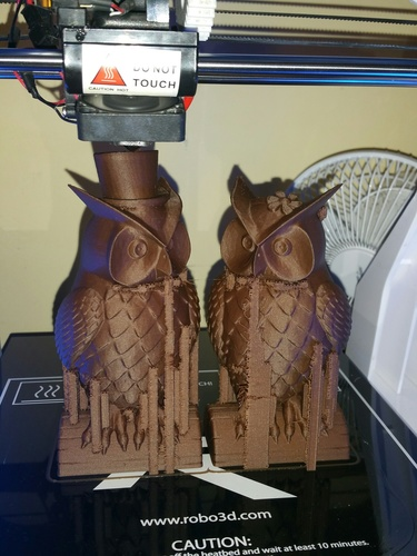 His_and_Her_Owls 3D Print 12965